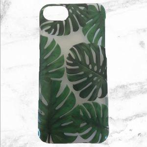 H&M palm leaves phone case